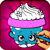 Coloring Book for Shopkins