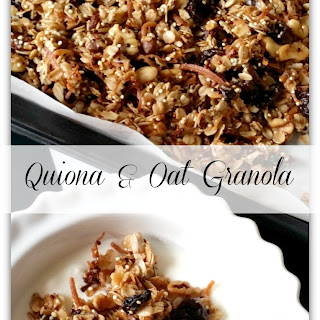 Homemade Quiona and Oat Granola.