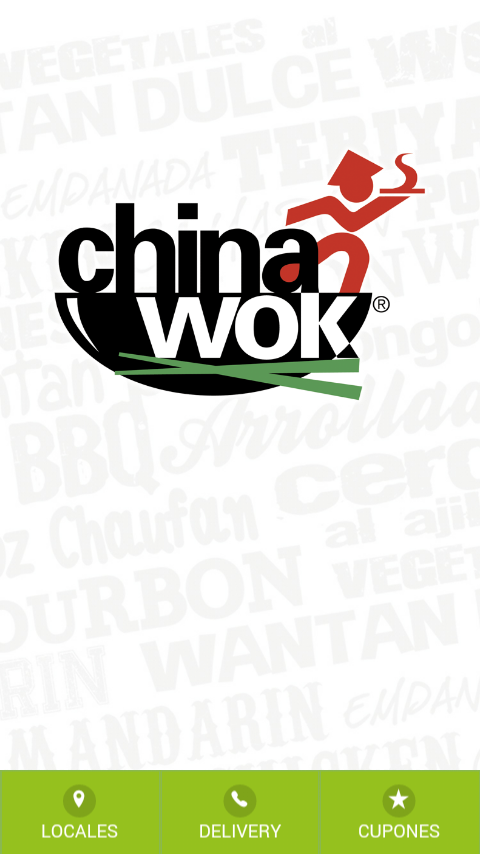 China Wok Chile: captura de pantalla