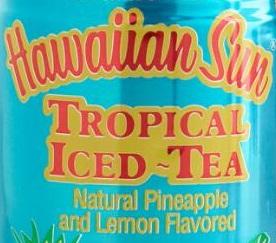 Logo for Hawaiian Sun Tropical Iced Tea