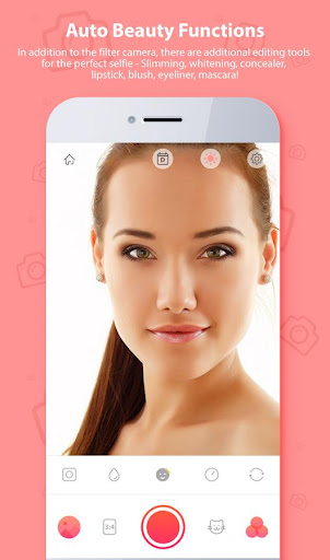 Selfie Camera Beauty - Filter & Photo Editor ❤ 2.5.16 screenshots 1