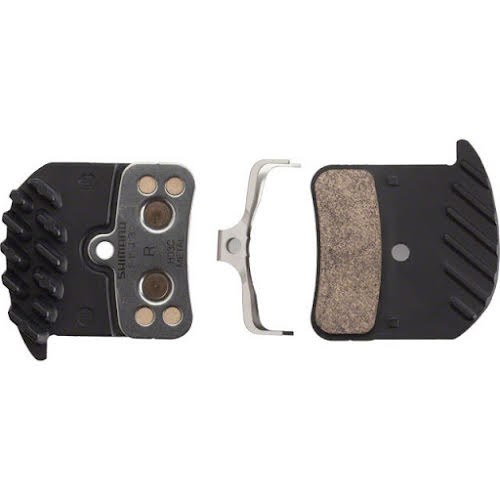 Shimano H03C Metal Pad with Fins and Spring for Saint and Zee Calipers