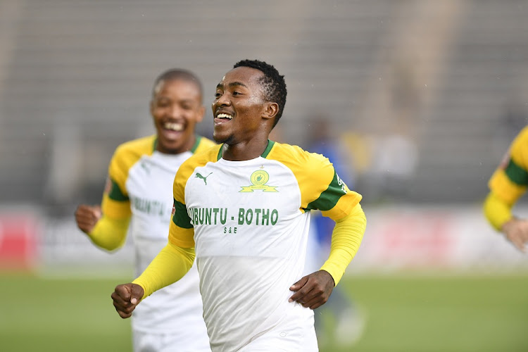 Lebohang Maboe of Mamelodi Sundowns. Picture: LEFTY SHIVAMBU/GALLO IMAGES