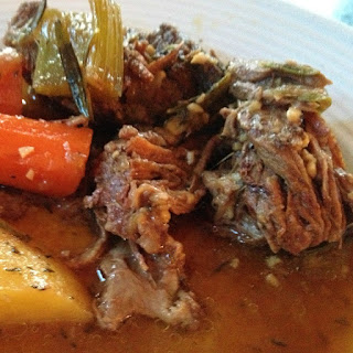 Slow Cooker Pot Roast with Vegetables.