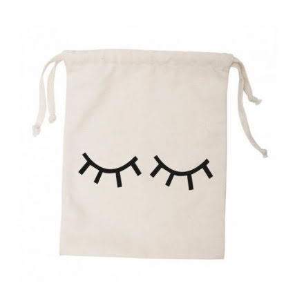 Tellkiddo Fabric Bag Closed eye Small