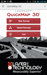 LaserSoft QuickMap 3D- screenshot thumbnail