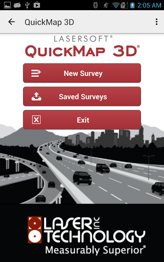 LaserSoft QuickMap 3D- screenshot
