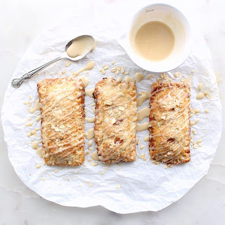 Apple Hand Pies with Oatmeal Crust & Maple Glaze