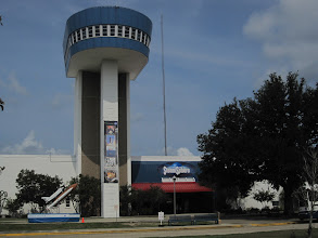 Photo: The Stennisphere and Museum: See that big blue tower?  That is where Dr. Wehrner von Braun's office used to be...