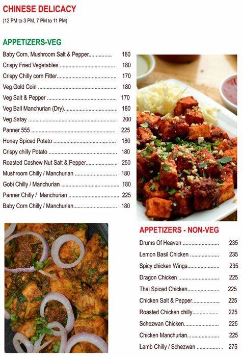 Chef's Bank menu 16