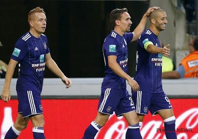 Anderlecht face à Lokeren sans un joueur important !