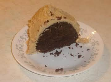 Jamie's Chocolate Peanut Butter Cake from Mix