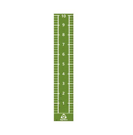 Konstgräs löparmatta 11x2 m, 15 mm
