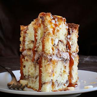 Caramel Apple Cinnamon Cake.