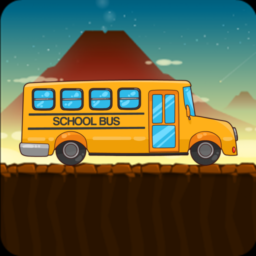 School Bus Hill Climb Racing