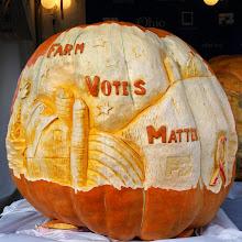 Photo: Farm Bureau pumpkin carving