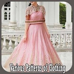 Různé vzory oděvních - náhled