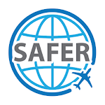 Safer - The travel safety application icon
