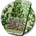 Green Camo Keyboard icon