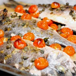 Baked Sea Bream in Ginger-Mint Marinade