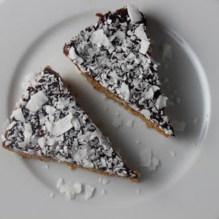 Coconut Crust with Chocolate Ganache