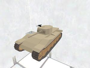 EACS Z-40軽戦車(砂漠塗装)