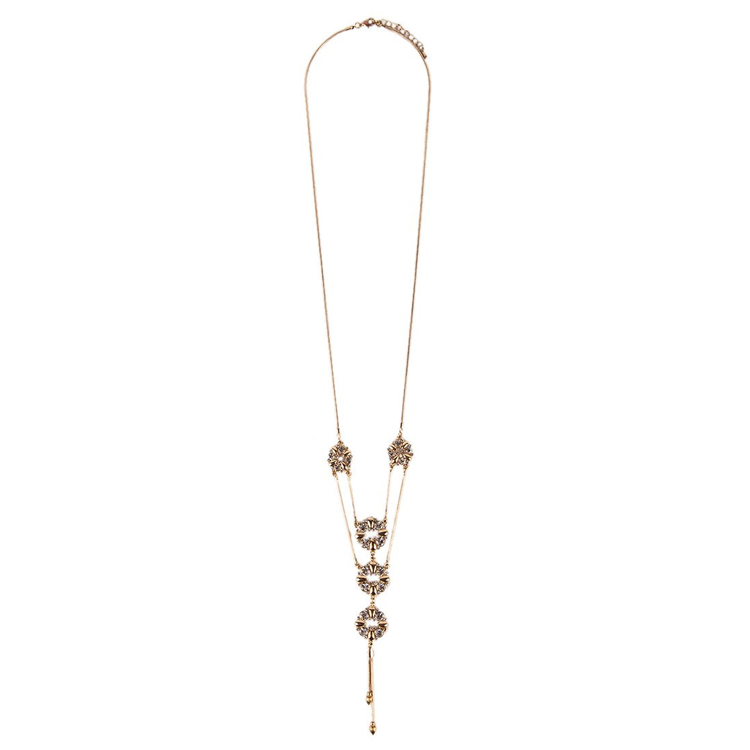 Lariat Dangle Chain Necklace by Hijab Le Modesty