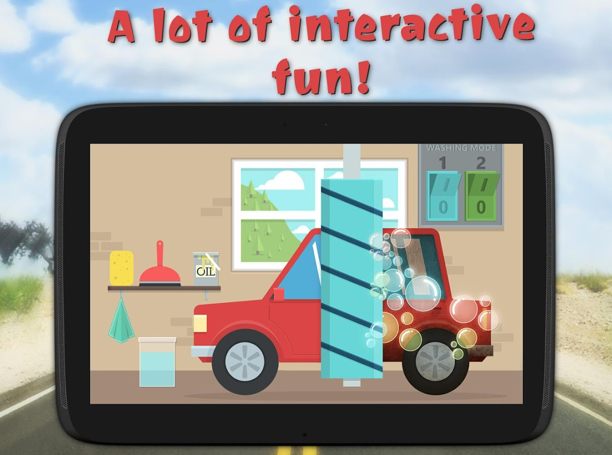 kids toy car driving game free screenshot