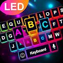 Neon LED Keyboard - RGB Lighting Colors icon