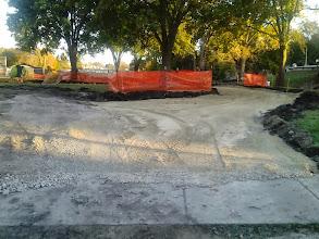 Photo: Parking Lot & Path entrance 10-22-2013