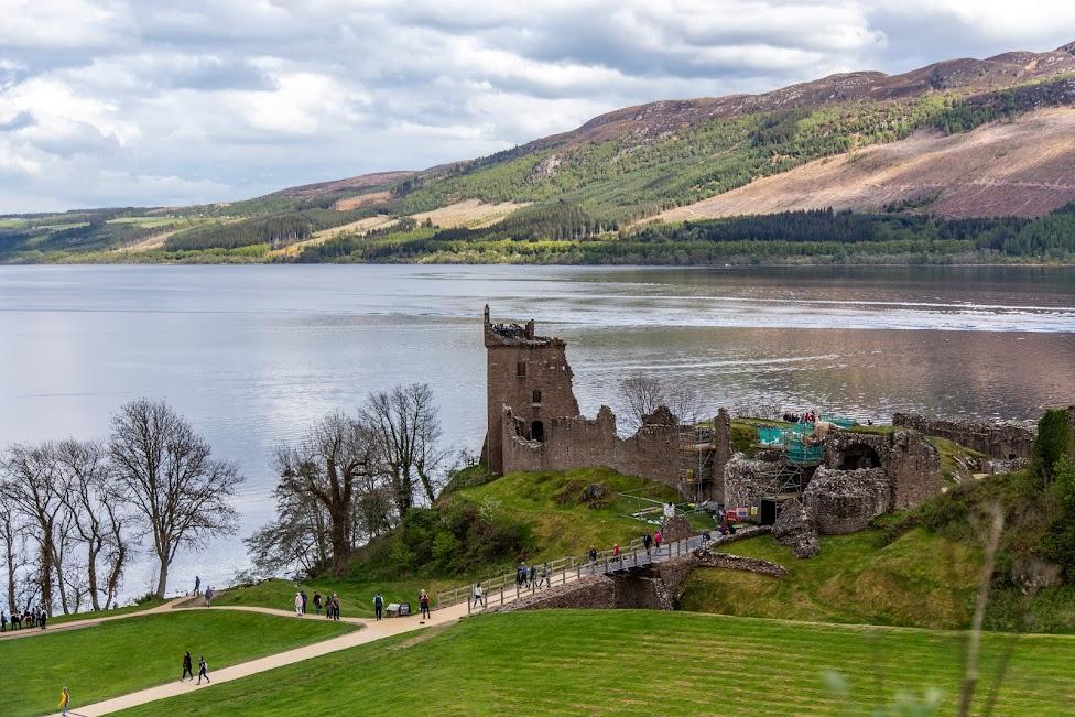 Zamek Urquhart, szkockie zamki