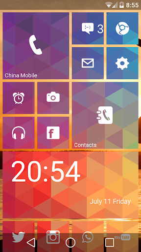 WP Launcher (Windows Phone Style) screenshot 15