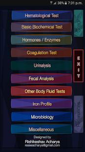 Laboratory Test Values - náhled