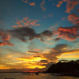 Sunset by Keneth Dionisio - Landscapes Sunsets & Sunrises
