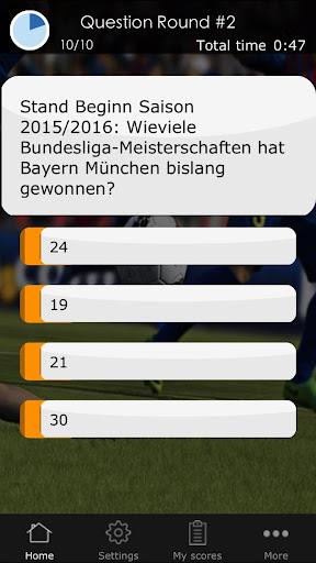Fußball Quiz: 1. Deutsche Liga