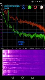 Speccy 📊 Spectrum Analyzer Screenshot