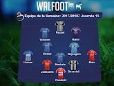 Bruges et Charleroi en force dans l'équipe type de la semaine