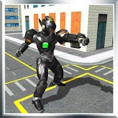 SuperHero Sword Rescue Robot Miami City