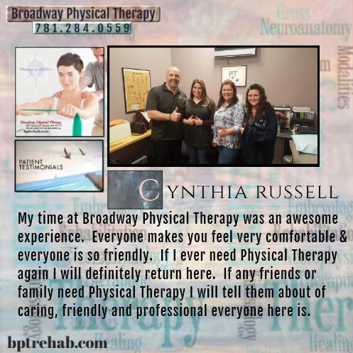 Cynthia Russel - BPT Testimonial