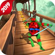Temple Escape Ninja Turtle Run 3D