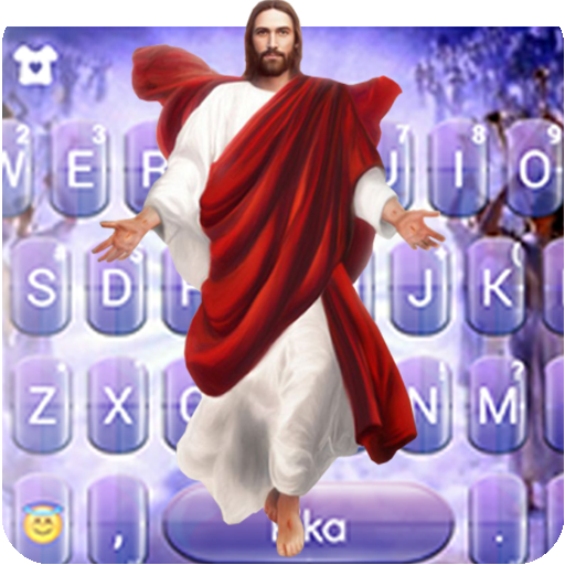 Jesus Christ Keyboard Theme Icon