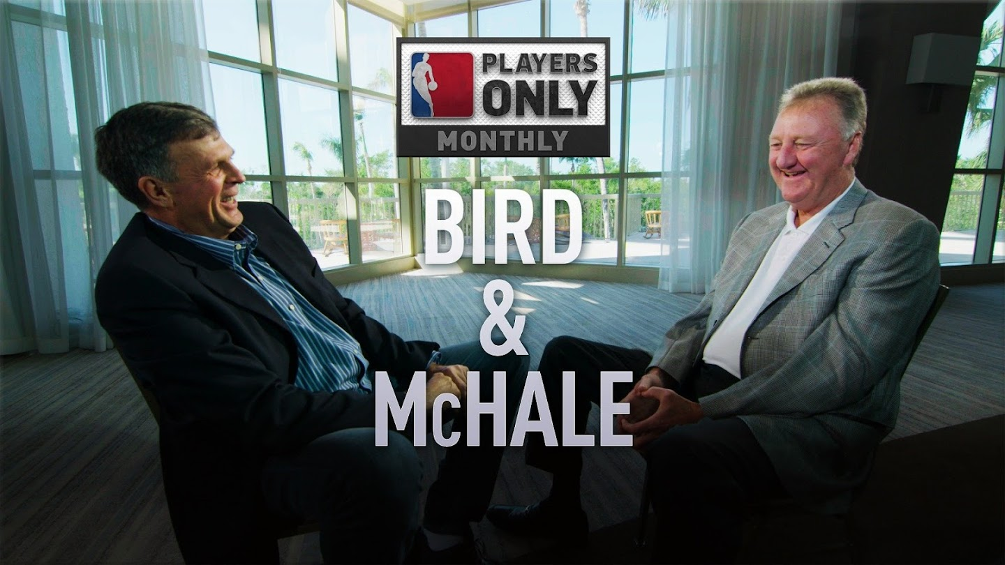 Watch Larry Bird & Kevin McHale: All-Star Interview live