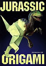 Photo: Jurassic Origami Ee, Edwin   Heian Intl Pub Co 1993 paperback 184 pp size ins 11.68 x 8.23 ISBN  0893468614