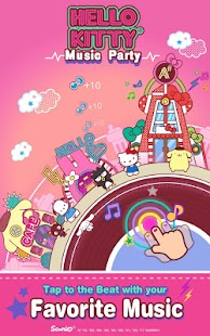 Hello Kitty Music Party - Kawaii and Cute! Screenshot