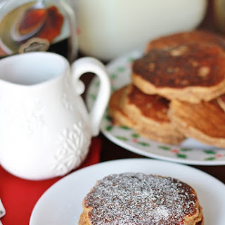 {Healthy} Gingerbread Pancakes.