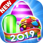 Lollipop Candy 2019: Sweet Match 3 Puzzle Game Android APK Free