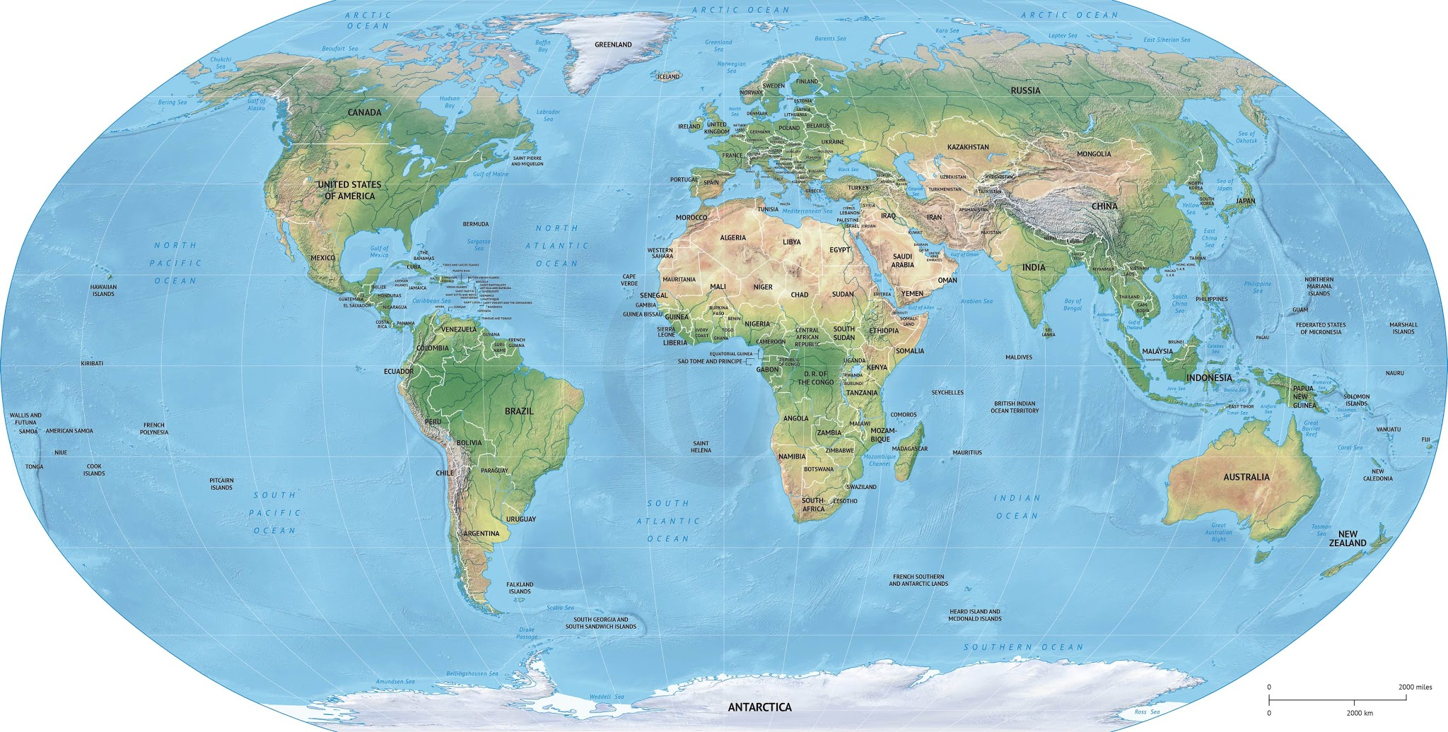 Album google photo world political shaded relief robinson europe africa centered vector map http gumiabroncs Image collections