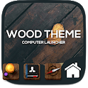 Wood theme for  Computer Launcher icon