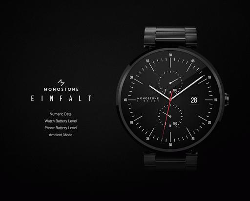 Einfalt watchface by Monostone