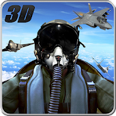 Air Force Army Jet Pilot 3D